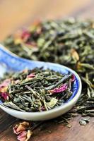 tè verde sfuso foto