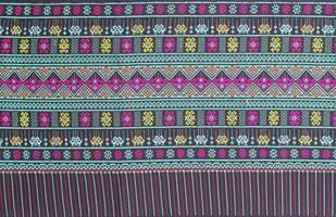 fondo tailandese del modello del tessuto di seta foto