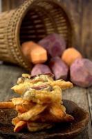 frittella di patate dolci