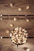ciotola di pistacchi