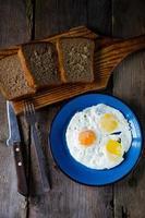 uova strapazzate foto