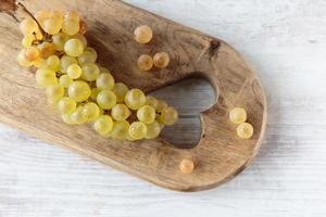 uva da vino bianco foto