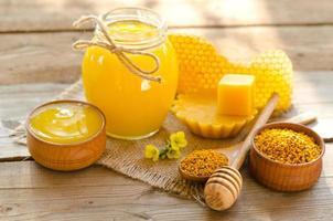 la natura morta dell'apicoltore foto