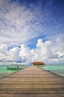 pontile maldive 03 foto