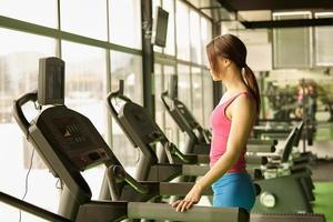 tapis roulant fitness foto