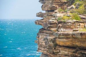 il divario in una giornata di sole a Watsons Bay Sydney foto
