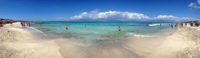 niebiańska plaża foto