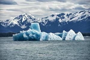 iceberg in braccio tracy foto