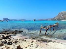 scena della spiaggia foto
