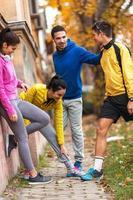 jogging autunnale