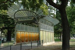 metropolitana di Parigi foto