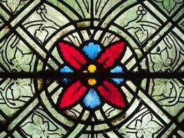 design in vetro colorato foto