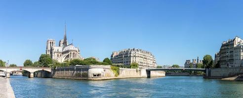 panorama di Parigi notre dame