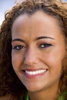 donna afro-americana foto