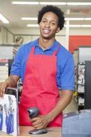 impiegato impiegato afroamericano foto