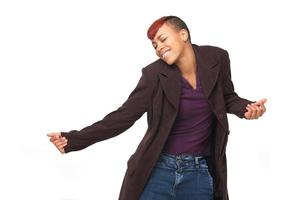ballerino moderno afroamericano