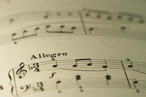 foglio musicale per principianti