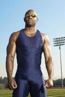 atleta di atletica leggera foto