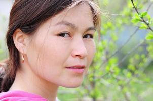ritratto di donna asiatica foto