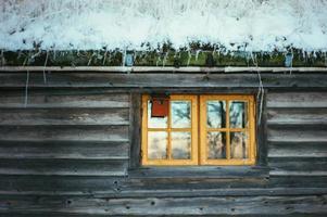 finestra della cabina foto