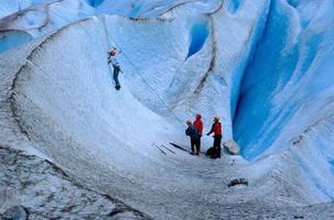 arrampicata su ghiaccio foto