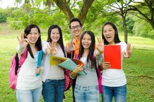 studenti asiatici foto