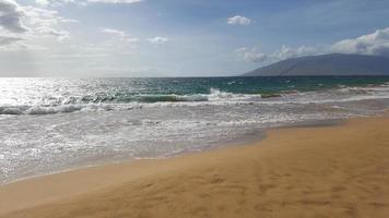 kamaole beach park ii, maui, hawaii foto