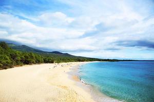 spiaggia dello stato di Maui foto