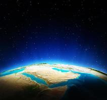 mappa della terra foto