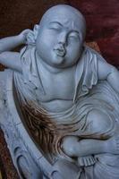 statua in marmo asiatico foto