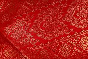 tessile asiatico antico foto