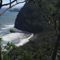 pololu valley, hawaii foto