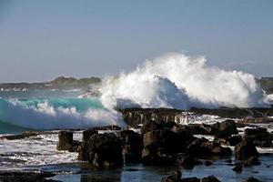 Parco della spiaggia di Wawaloli foto