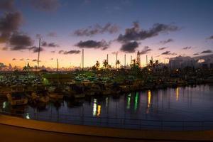 porto della barca di ala wai foto