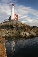 Faro di Fisgard, Victoria, British Columbia foto