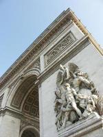 Arc de Triomphe a Parigi foto