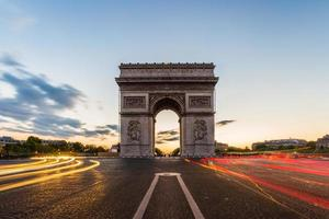 arc de triomphe paris foto