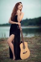 fotografia di ritratto di donna asiatica foto