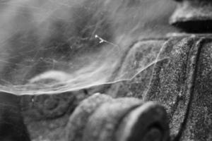 lanterna di pietra asiatica tradizionale foto
