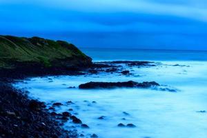zona della spiaggia di Wailua foto