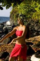 ballerino hawaiano foto