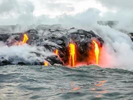 vulcano delle Hawaii foto