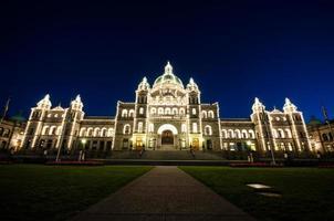 parlamento di victoria, british columbia, canada foto