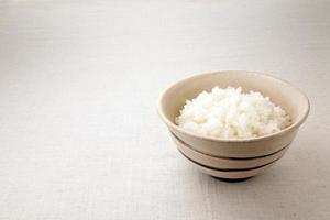riso asiatico. foto
