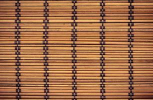 trama di bambù di legno per lo sfondo foto