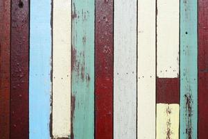 sfondo di legno colorato. foto