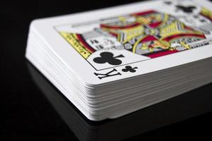 carte da gioco foto