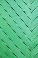 trama di sfondo in legno vecchio verde foto