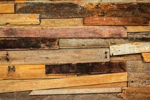 piccola toppa vecchia struttura in legno foto