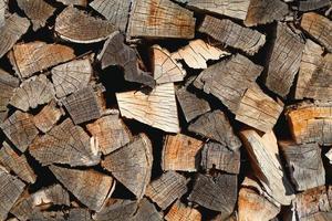 sfondo di legno di fuoco foto